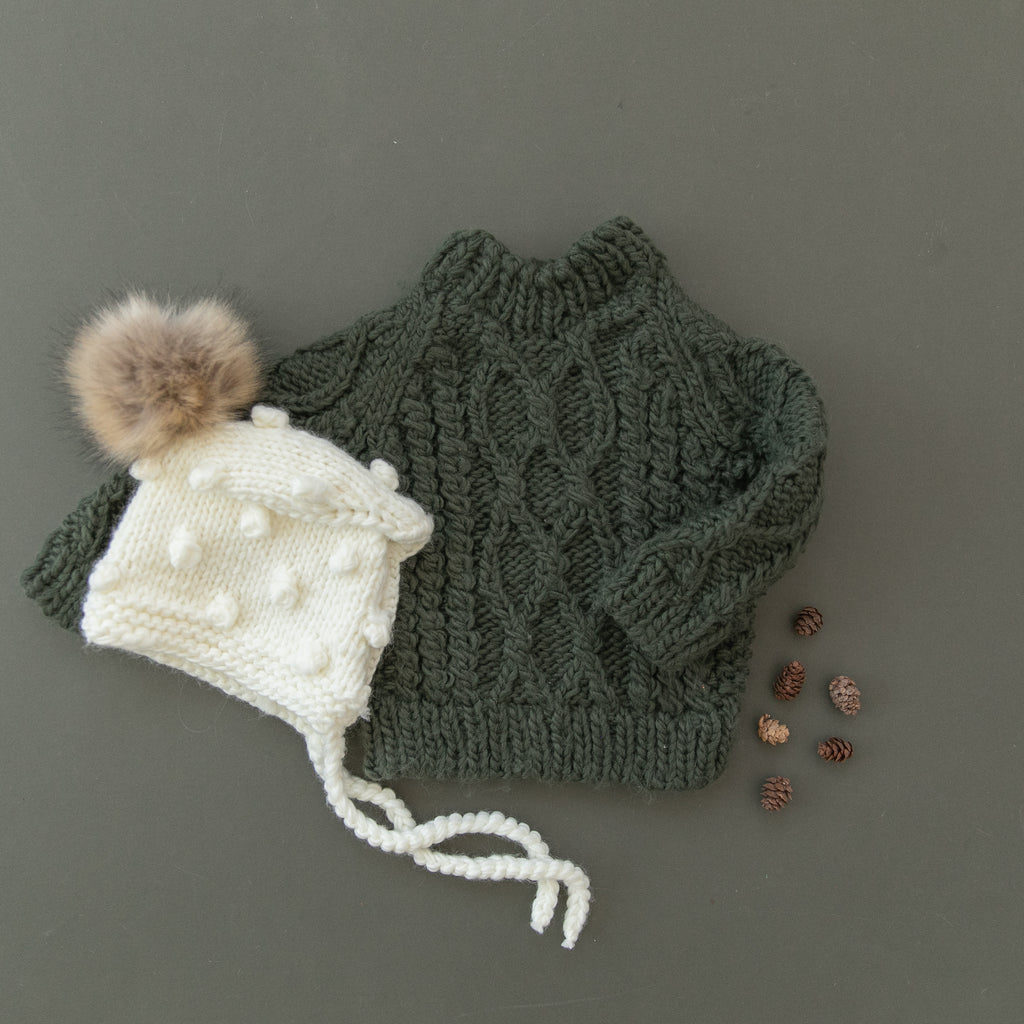 Coco Bonnet with Pom