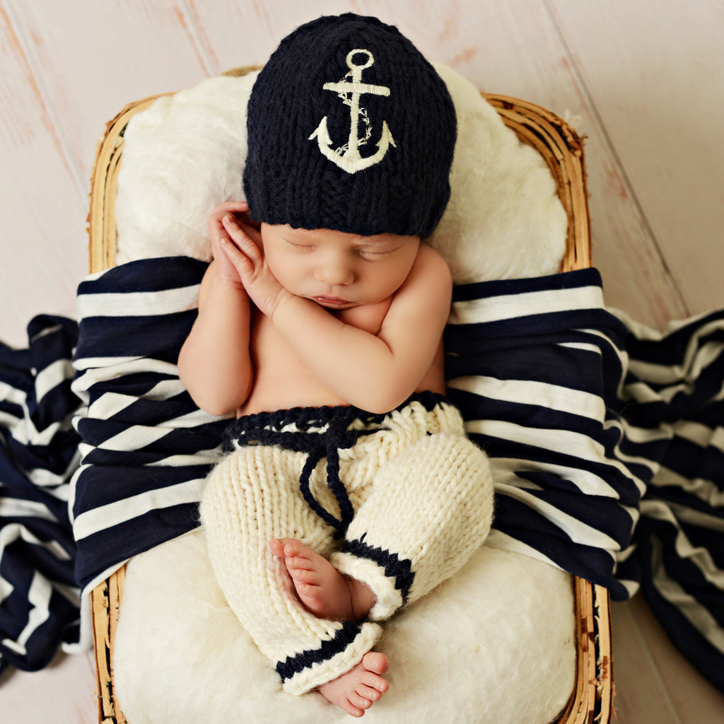 Hudson Anchor Newborn Set