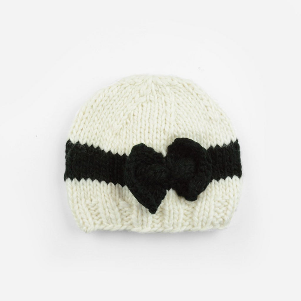Sabrina Bow Knit Hat