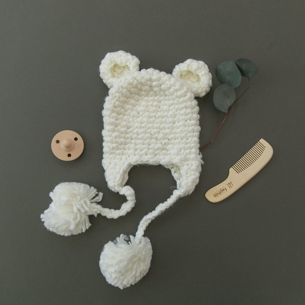 Sam Bear Crochet Hat