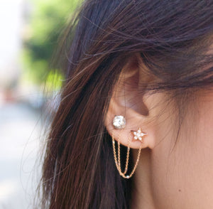 Shooting Star Earring Immediate Delivery