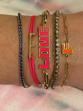 Load image into Gallery viewer, LetterBlock© Nameplate Bracelet – Design Your Own