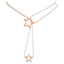 Load image into Gallery viewer, Shooting Star Scapular Necklace