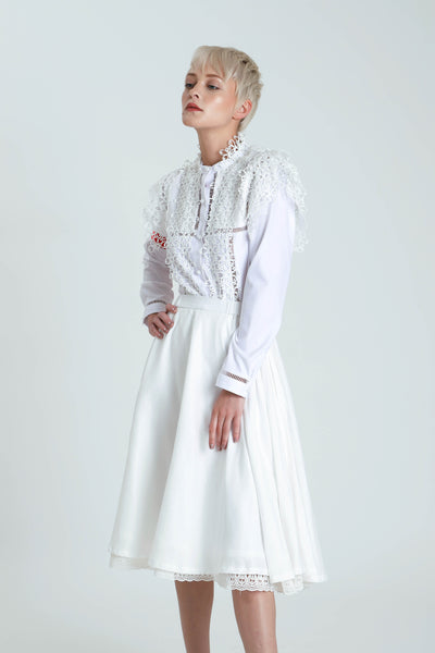 Akemono Lace Voile Skirt