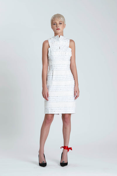 Pauline Linen Demi Couture dress