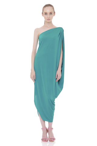 Tarida One Shoulder Dress Tosca