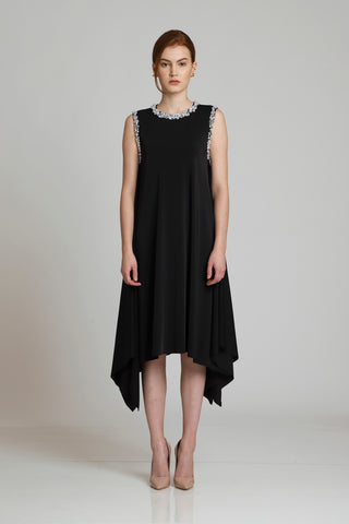 Catasetum Oversize Dress with Back Ribbon