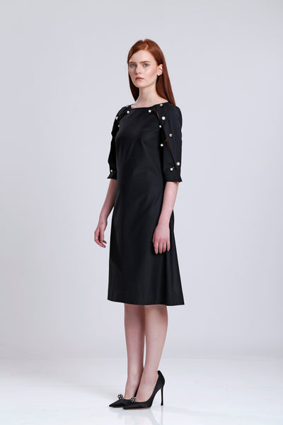 Pearl Studs Dress