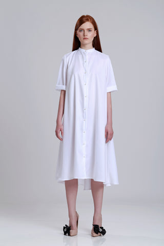 Flair Shirt Dress