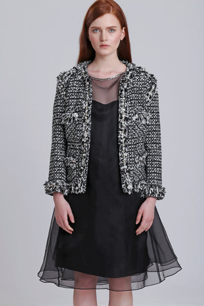Frills Tweed Jacket