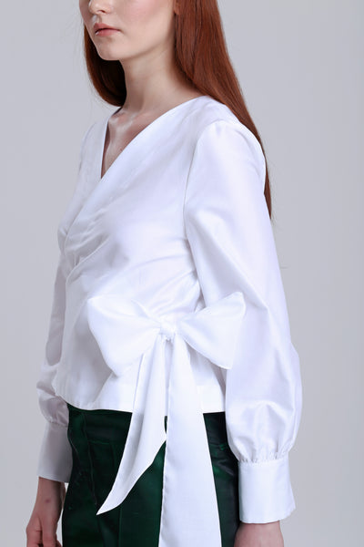 Wrap over top