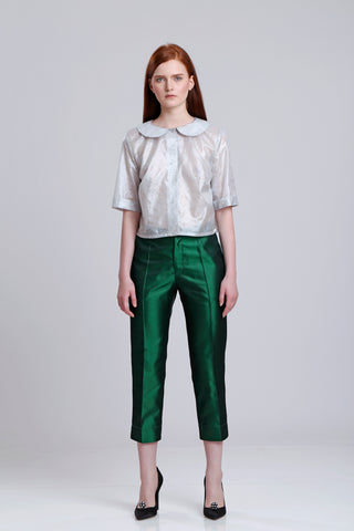 Fall Winter 2017 2018 Tagged Cropped Pants Selphiebong