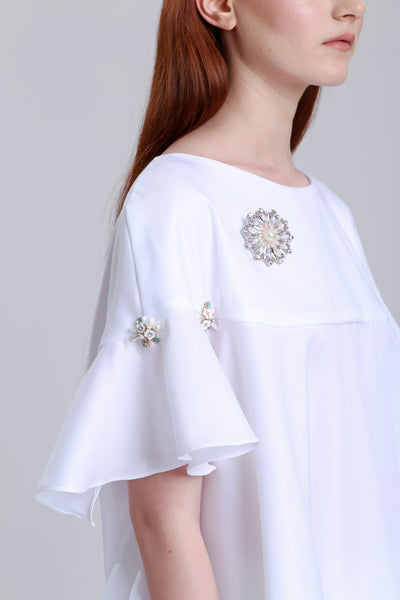 Flair Blouse with crystals details