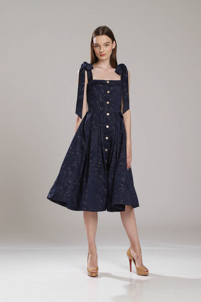 Siesta Jacquard Day Dress