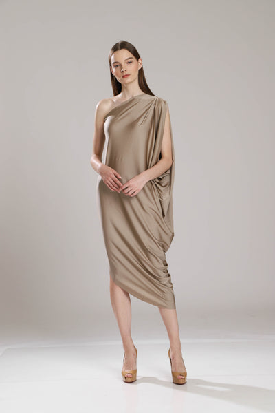 Tarida Draped Dress