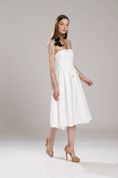 Curtis Fully Beaded  Embroidered Dress