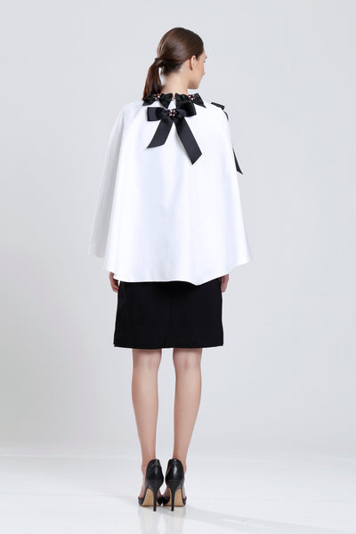 Chiquet Ribbon Cape
