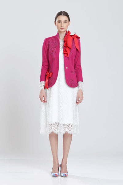 Francour Statement Ribbon Twill Jacket