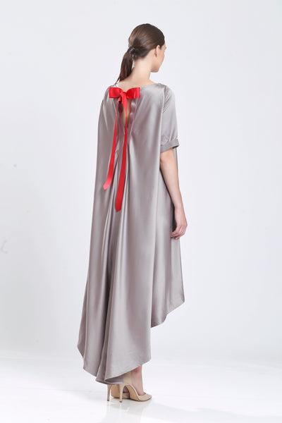 Des Jacotin Silk Cady Oversize Day Dress