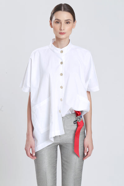 Maurie Oversize Shirt Blouse