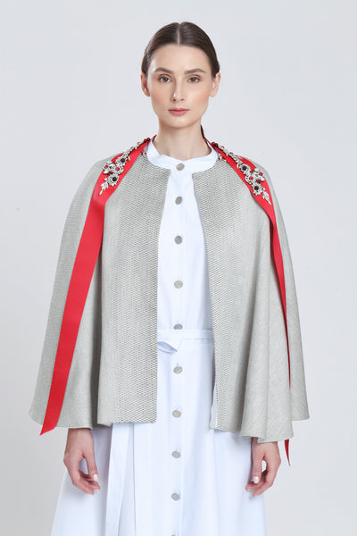 Prony Jacquard Cape
