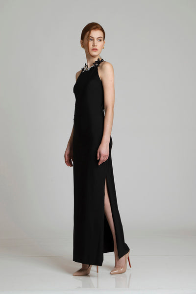 Charles Halter Emberlished Dress