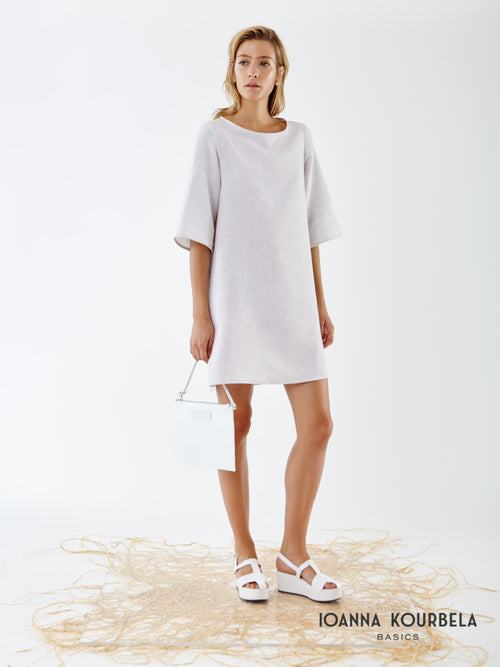 Ioanna Kourbela Fresh Geometries Shift Dress