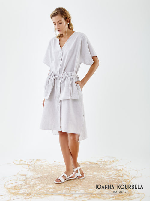 Ioanna Kourbela Fresh Geometries Shirt Dress