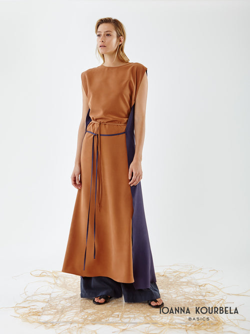 Ioanna Kourbela Airy Seduction Panelled Dress