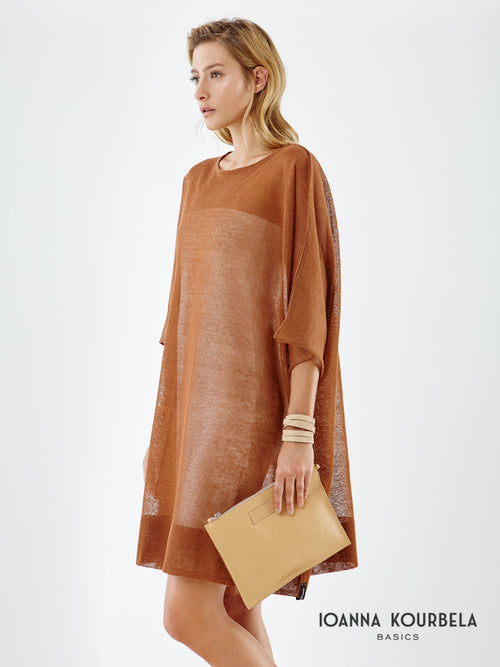 Ioanna Kourbela Diaphanous Oversized Top