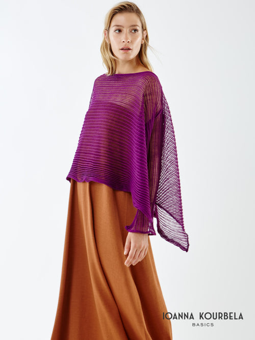 Ioanna Kourbela Unusual Pleats Top