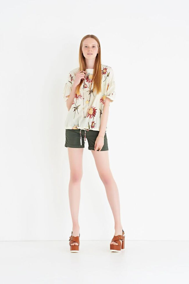 Ottod'Ame Floral Print Top
