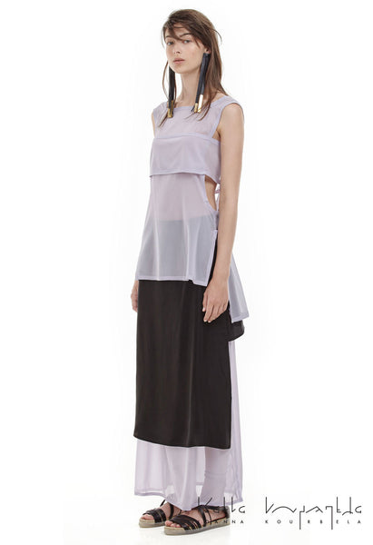 Ioanna Kourbela Playful Silks Sleeveless Top