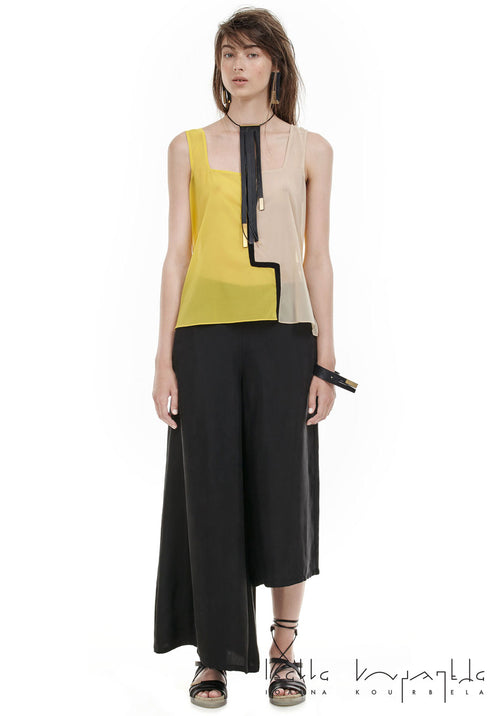 Ioanna Kourbela Absolutely Essentials Asymmetrical Trousers