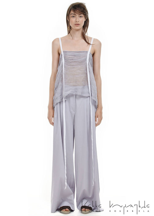 Ioanna Kourbela Retro Geometries Wide Leg Trousers