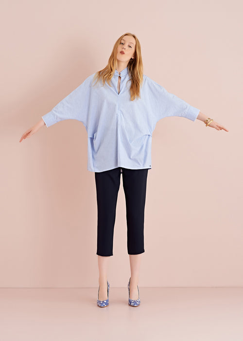 Ottod'ame Soft Crepe Trousers