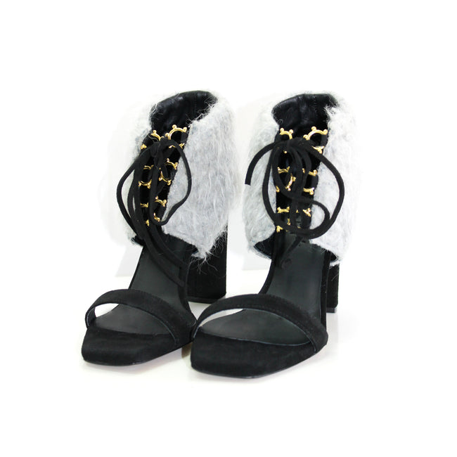 Klimt Furry Winter Sandals