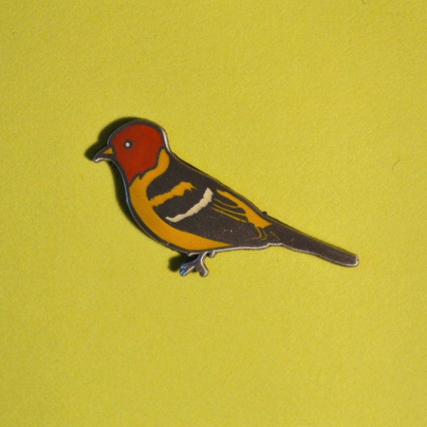 Western Tanager Pin