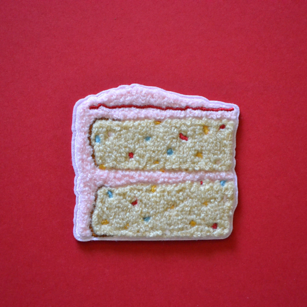 Cake Chenille Patches