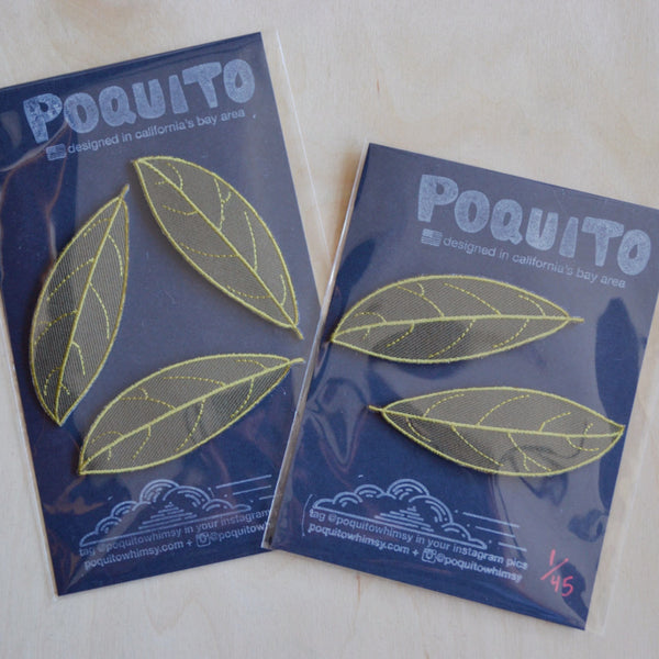 Bay Leaf Patch Sets: 2 Packs & 3 Packs Available