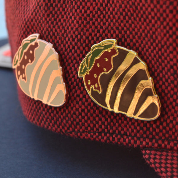 Chocolate Strawberry Pin