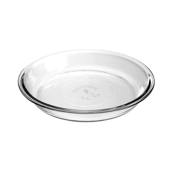 Anchor Hocking 23cm glass pie dish - 2pc set - LifeStylz