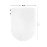 Non Electric Bidet Toilet Seat Bathroom - White