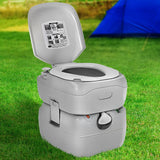 Outdoor Portable Camping Toilet 22L