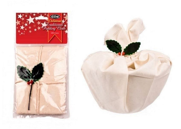 D.Line Christmas Traditional Pudding Cloth