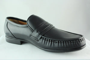 Crocodile - ExtraLite Italian leather formals - Black