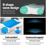 Giselle Bedding Set of 2 Cool Gell Memory Foam Pillows