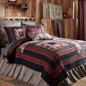 NEW - Cumberland Patchwork Quilt and Matching Bedding Coordinates