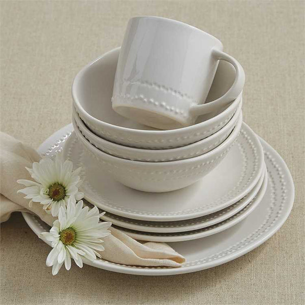 Peyton White Dinnerware Collection