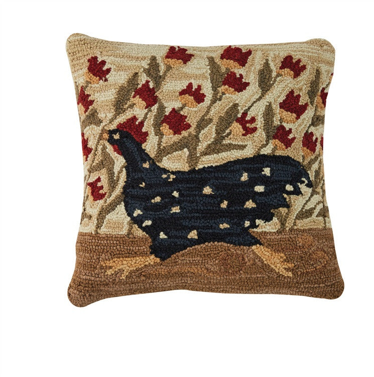 Whimsey Cottage Hooked Pillow By Park Designs Country
